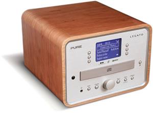 eenvoudige radio cd speler